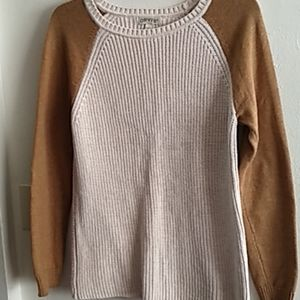 Orvis pull over knitted cardigan